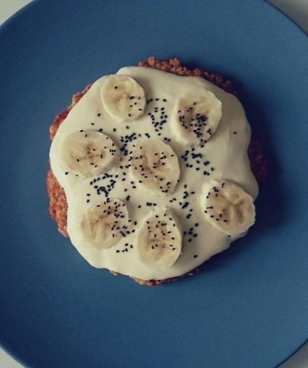 Pomysł na zdrowe śniadanie w 5 minut – otrębowy placek - Placki i placuszki
