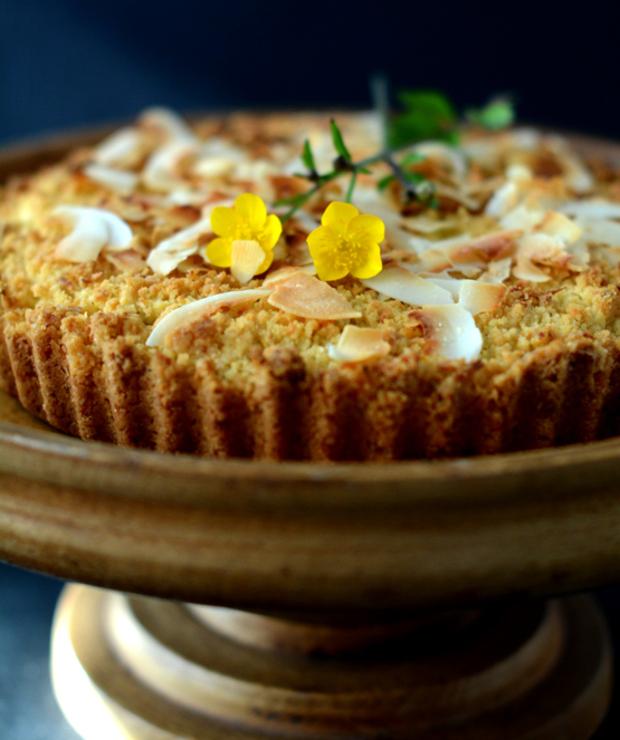 Ciasto kokosowo cytrynowe - Tarty