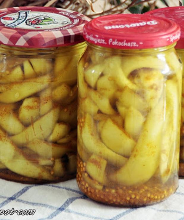 Ogórki w Azjatyckich smakach z curry i kurkumą - Warzywne