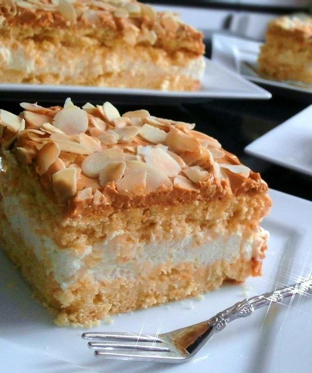 """Ciasto """"Krówka"""" - Kruche"""