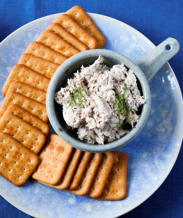 Pasta z tuńczyka do krakersów - Na zimno