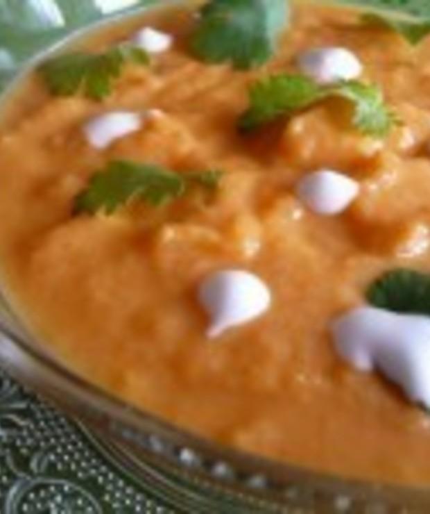 Zupa marchewkowa z mlekiem kokosowym i kolendrą - Kremy