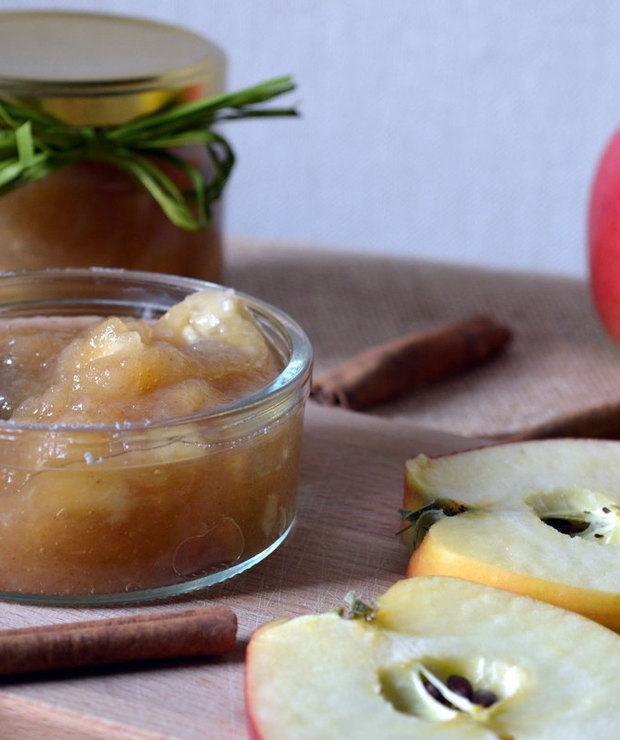 Dżem jabłkowy z bananami - Owocowe