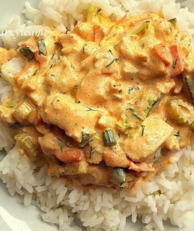 Pierwszy Bezglutenowy Obiad Ryz Jasminowy Z Kurczakiem I Warzywami