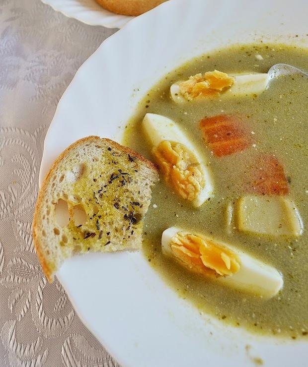 Zupa szczawiowa według przepisu Magdy Gessler - Inne