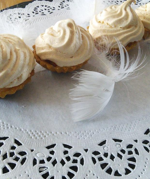 Mini szarlotki z malinami - Muffiny i babeczki