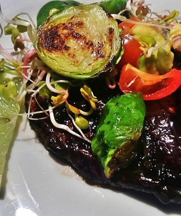 Steki portobello - Warzywa