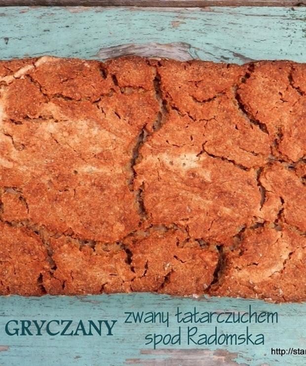 Chleb gryczany zwany tatarczuchem spod Radomska  - lutowa piekarnia - Chleby