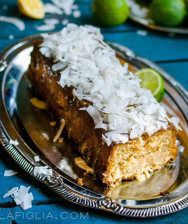 Lime coconut loaf cake - Inne