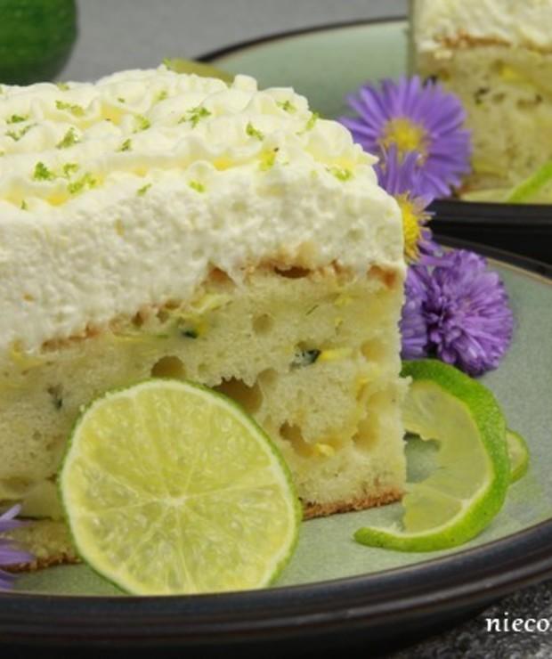 Ciasto cukiniowe z limonką - Ucierane