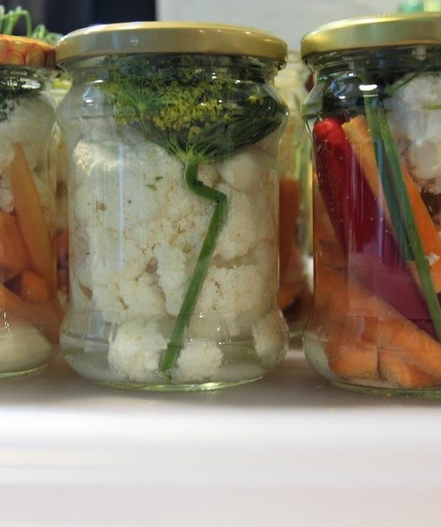 Kiszone warzywa - Na zimno