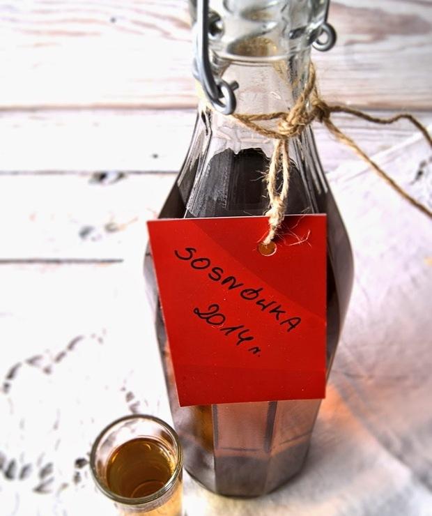 Sosnówka - nalewka na pędach sosny - Alkoholowe