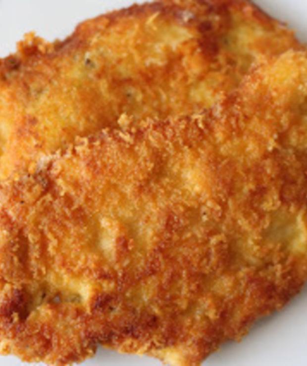 Piersi z kurczaka w chrupiącej serowej panierce - Drób
