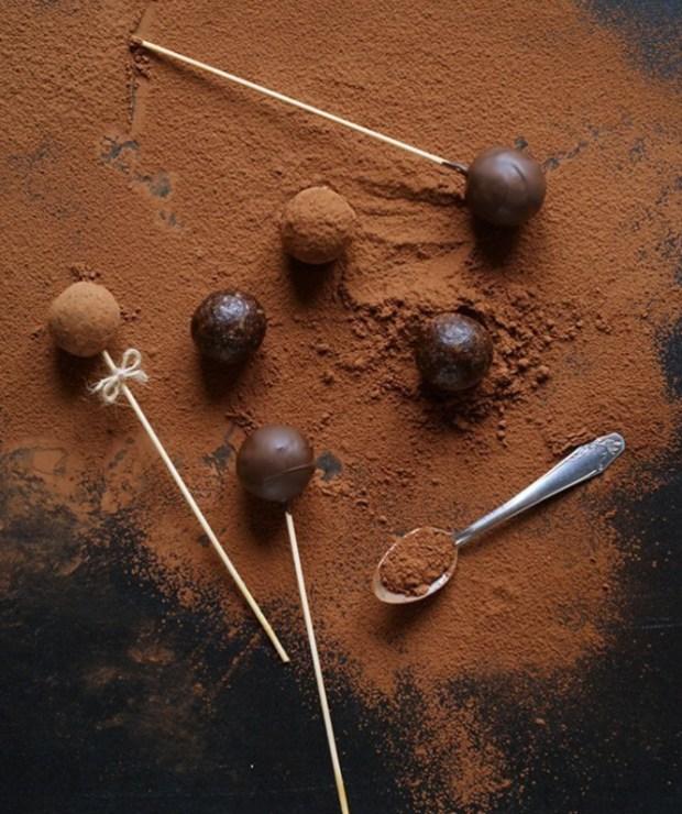 Kulki mocy | Śliwka w czekoladzie - Desery i ciasta