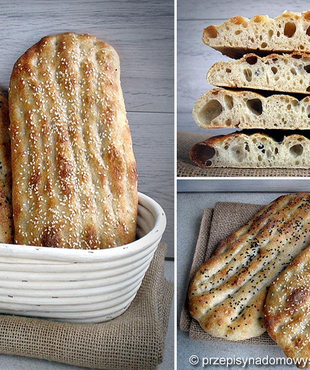 Irański płaski chleb barbari - Chleby