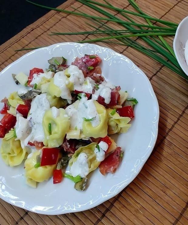 Tortellini w sałatce - Mięsne