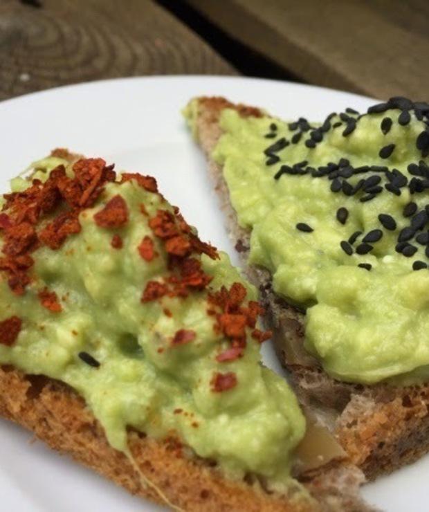 Pasta kanapkowa z awokado i gorgonzoli - Pasty do chleba