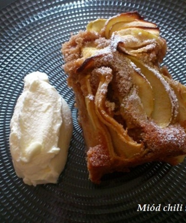 Ciasto ucierane cynamonowe jabłuszko - Szarlotki