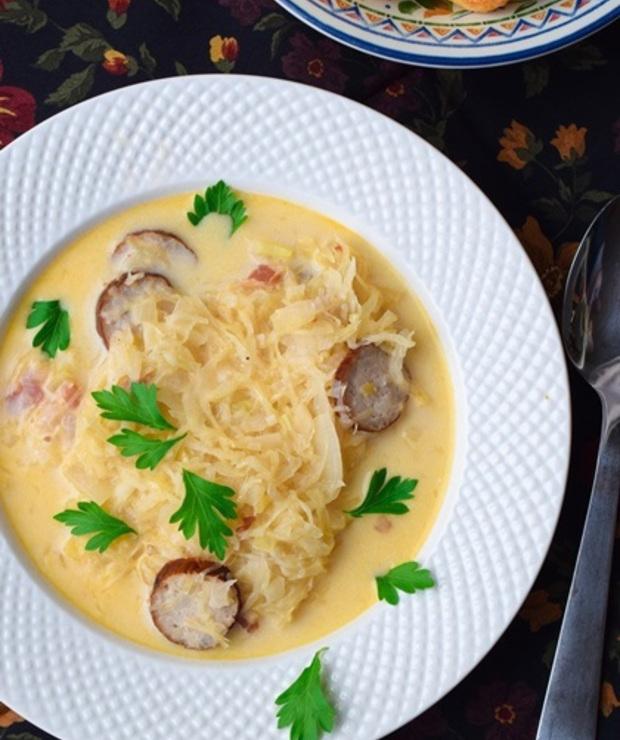Węgierska zupa wiejska - Z mięsem