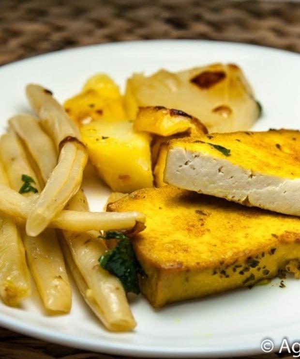 Smażone tofu z warzywami - Na gorąco