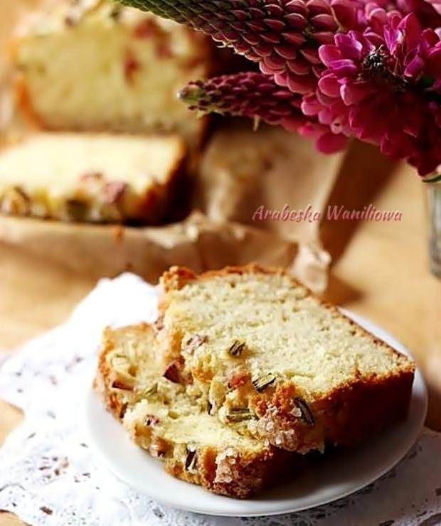 Jogurtowe ciasto z rabarbarem - Inne