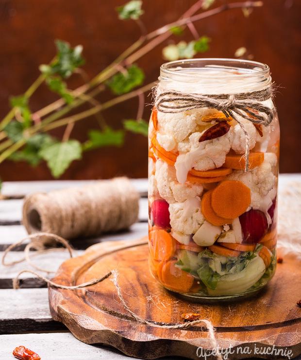 Kiszone warzywa zimowe - Warzywne