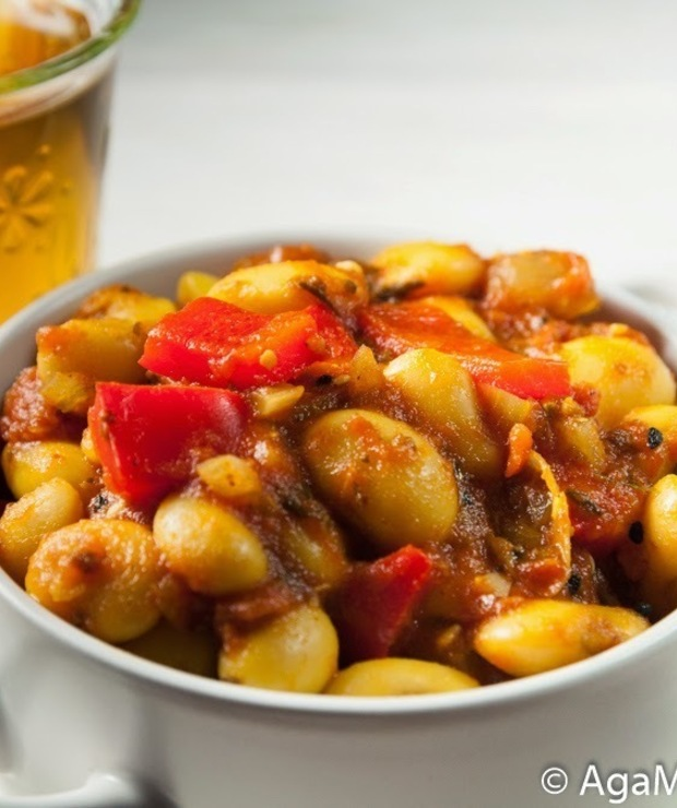 Bezglutenowa i wegańska fasolka po bretońsku - Warzywa