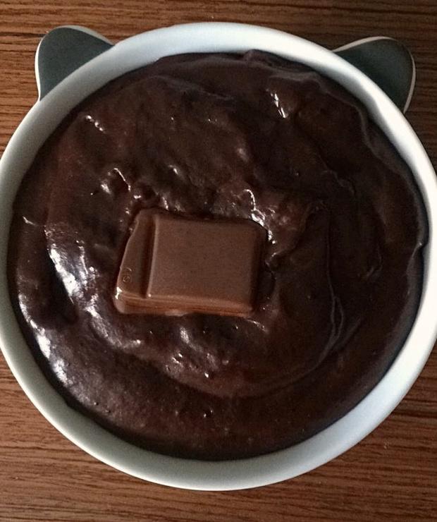 Homemade chocolate pudding - domowy budyń czekoladowy - Kremy