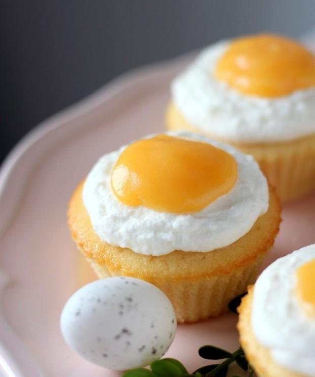Muffinki wielkanocne jajko - Muffiny i babeczki