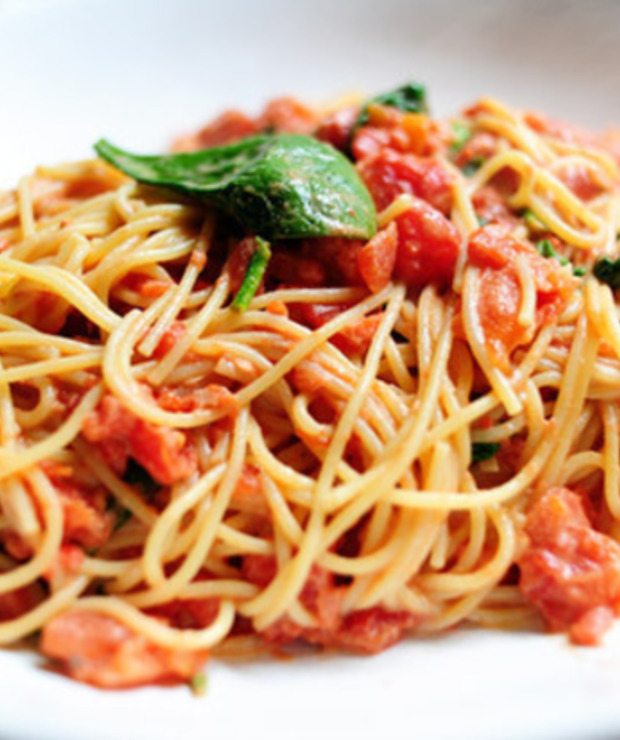 Spaghetti bolognese. - Dania z makaronu