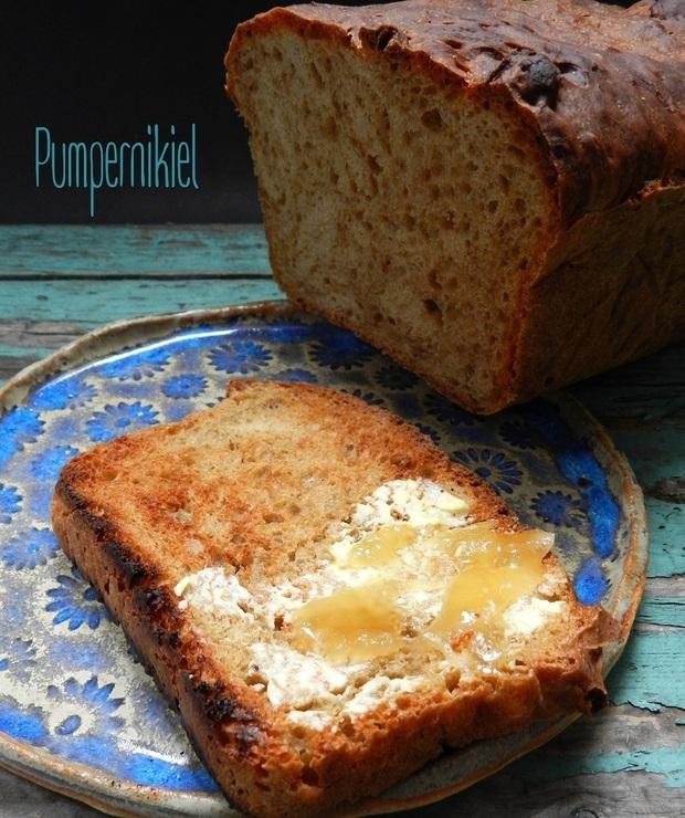 Pumpernikiel - styczniowa piekarnia - Chleby