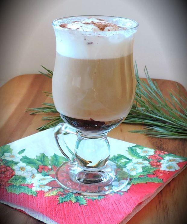 ŚLIWKOWE CAFE LATTE - Gorące
