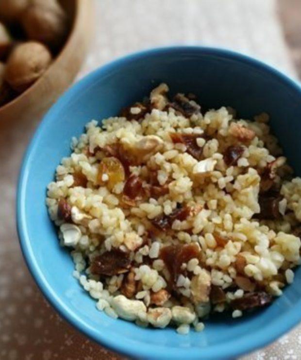 Kasza bulgur z bakaliami - Dania z ryżu i kaszy