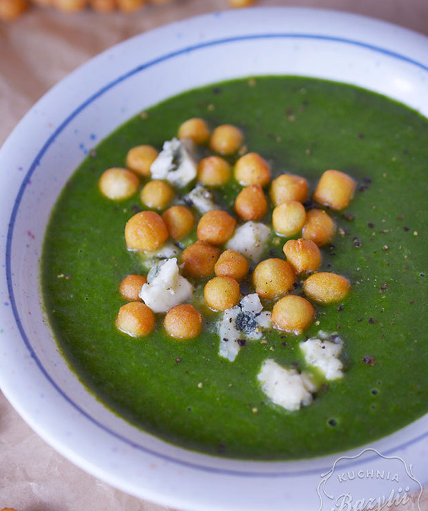 Zupa krem szpinakowa - Kremy