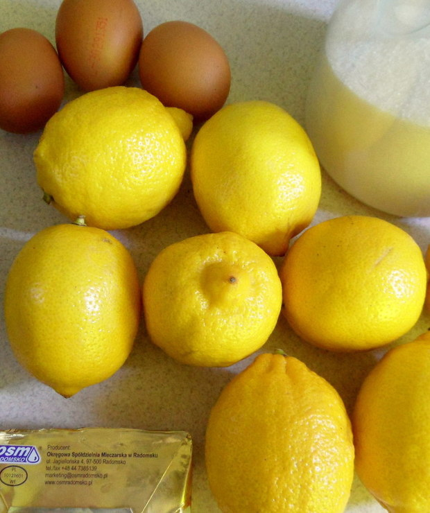 Lemon Curd / krem cytrynowy - Kremy
