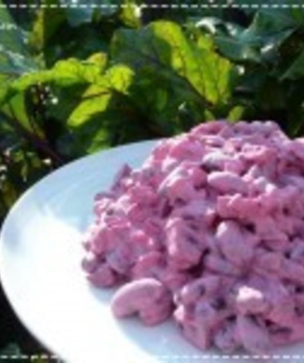 Sałatka z czerwonych warzyw - Jarskie