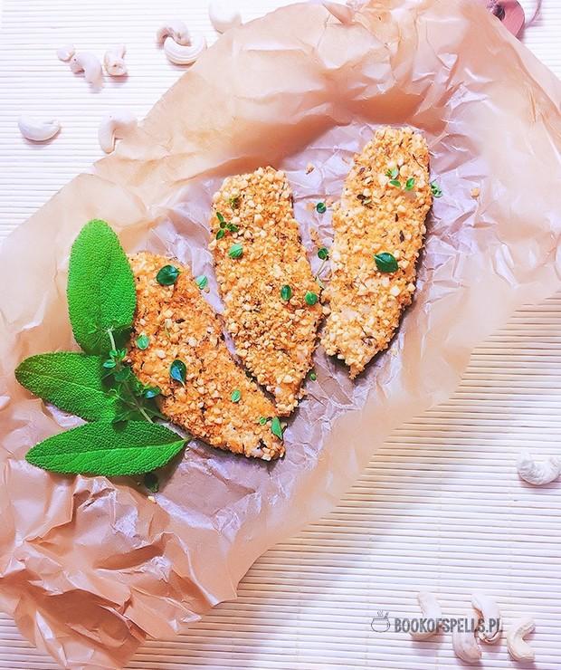 Pieczone piersi z kurczaka w bezglutenowej panierce - Drób