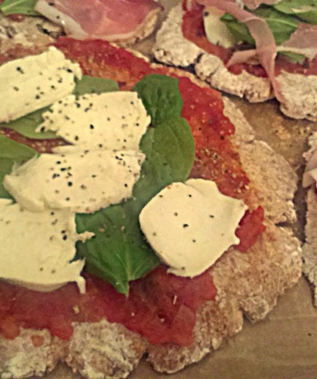 pizza na razowym spodzie - Pizza i calzone