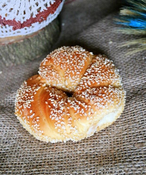 Simit - tureckie bajgle - Bułki