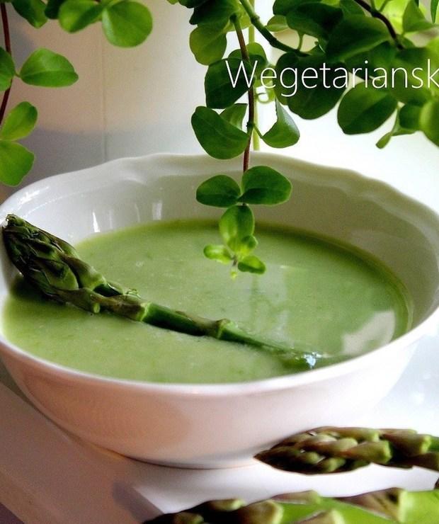 Zupa szparagowa - Z warzywami