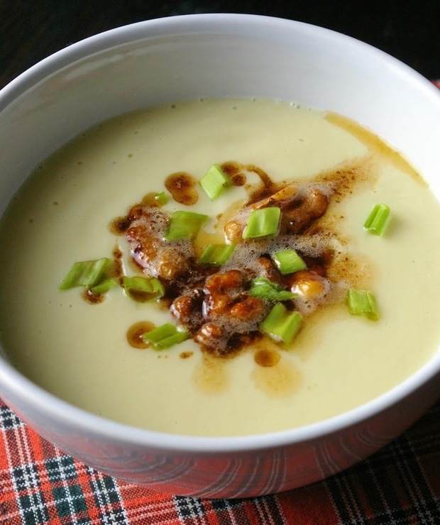 Kremowa zupa z kalafiora. - Kremy