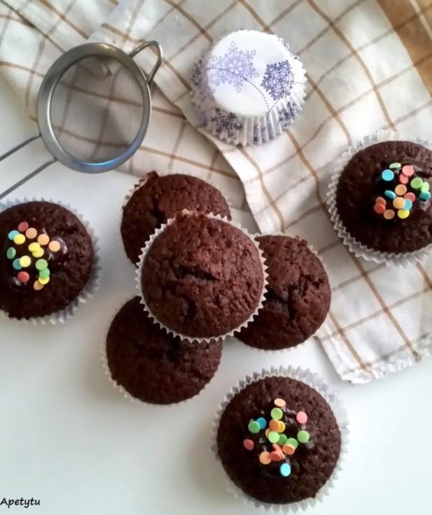 Muffiny z Colą - Muffiny i babeczki