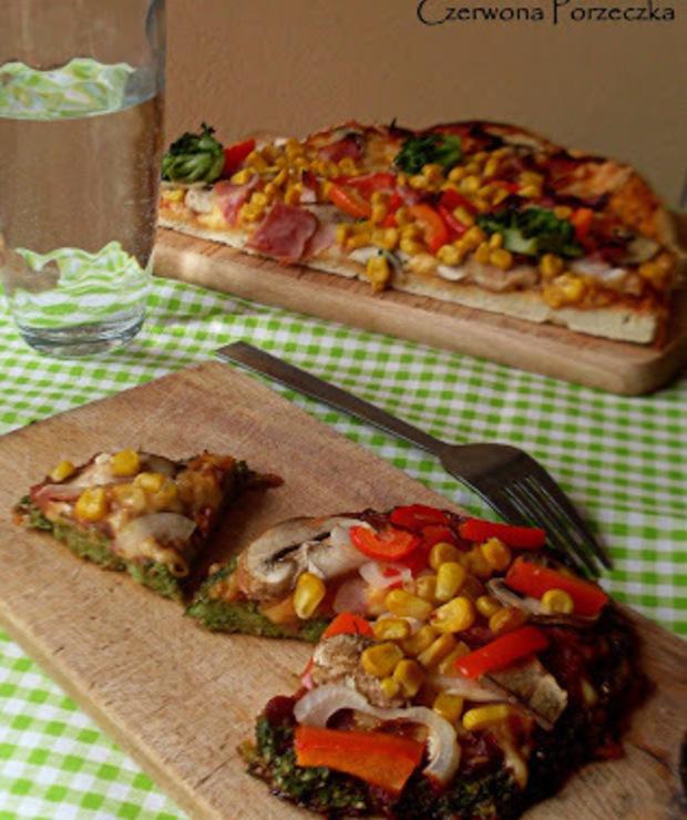 Pizzerinki na brokułowym spodzie - Pizza i calzone