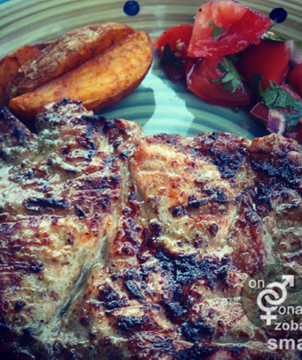 soczysta karkówka z grilla - Potrawy z grilla