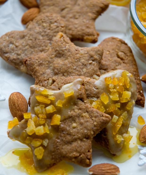 Schwowebredele - Ciasteczka Bożonarodzeniowe ze skórką pomarańczową - Ciastka
