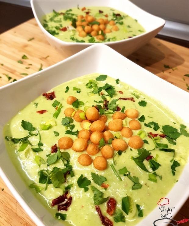 Tajska zupa krem z groszku - Kremy
