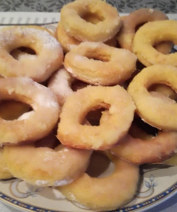 Pieczone oponki - Muffiny i babeczki