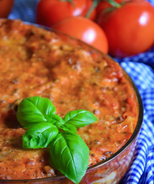 Lasagne bolognese - Dania z makaronu