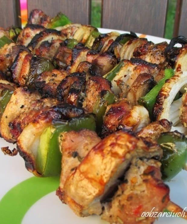 Szaszłyki  - Potrawy z grilla
