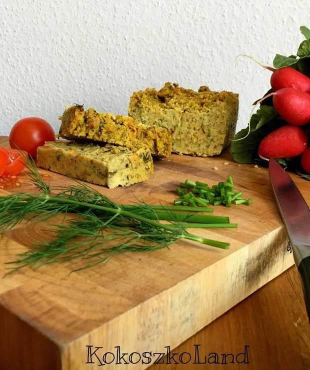 PASZTET z kaszy jaglanej, cukinii i marchewki - Na zimno